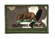 ill Gear CA California Republic Flag Velcro Patch  (Multicam)
