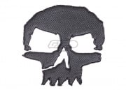 ill Gear Monster Tactical Skull Velcro Patch (Gray)