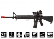King Arms M16A3 Rifle AEG Airsoft Gun (Black)