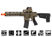 Krytac Full Metal Trident M4 CRB Keymod AEG Airsoft Gun (Flat Dark Earth)