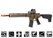 Krytac Full Metal Trident M4 SPR Keymod AEG Airsoft Gun (Flat Dark Earth)