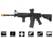 KWA LM4 PTR RIS M4 Carbine GBBR Airsoft Rifle (Black)