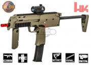 KWA H&K MP7 GBB Pistol Airsoft Gun Licensed by Elite Force (Dark Earth)