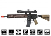 Airsoft GI Custom LM4 M4A1 RIS 2 Recon Rifle Airsoft Gun (Black Card Custom)