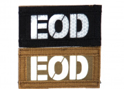"Emerson ""EOD"" Reversible Velcro Glow In Dark I.R. Patch (Brown/Black)"