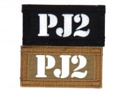 "Lancer Tactical ""PJ2"" Reversible Velcro Patch ( Brown Side-Glow In Dark / Black Side-IR )"