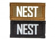 "Lancer Tactical ""NEST"" Reversible Velcro Patch (Brown Side-Glow In Dark/Black Side-IR)"