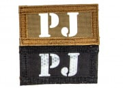 "Lancer Tactical ""PJ"" Reversible Velcro Glow In Dark I.R. Patch (Brown/Black)"