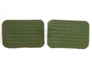 Emerson U.S. Flag Rubber Patch Forward/Reverse (OD Green)