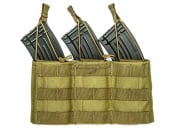 Lancer Tactical AK Triple Wedge Magazine Pouch (Khaki)