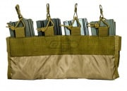 Emerson Inner Quad Mag Pouch for 4906 Plate Carrier (Khaki)