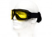 Lancer Tactical CA-234Y Airsoft Safety Goggles - Framless/Yellow Lens