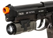 Lancer Tactical LED Pistol Light ( Black / 200 Lumens )