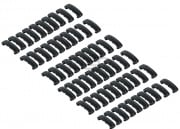 Lancer Tactical Rail Index Clips 60 Pieces Set (Black)