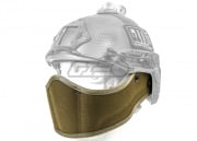Lancer Tactical Helmet Face Armour (Coyote Tan)