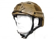 Lancer Tactical FAST Helmet PJ Type w/ Retractable Visor (Dark Earth/Basic Version)