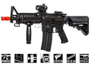 Lancer Tactical LT02C M4 RIS II Carbine AEG Airsoft Gun (Black)