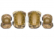 Lancer Tactical Elbow & Knee Pad Set (Camo)