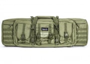 "Lancer Tactical Gun Bag 36"" double compartment, Green"