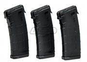 PTS RM4 P-Mag 30/60rd Mid Capacity AEG Magazine (3 Pack/BLK)