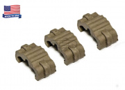 Manta MRWC Single Wire Clip (Flat Dark Earth/3 Pack)