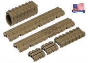 Manta M27 Rail Cover Kit (Flat Dark Earth)