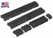 Manta M4 Carbine Length Rail Cover Kit (Black)