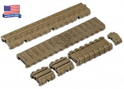 Manta M4 Carbine Length Rail Cover Kit (Flat Dark Earth)