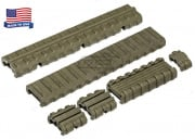 Manta M4 Carbine Length Rail Cover Kit (OD)
