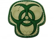 Maxpedition Biohazard Skull PVC Patch (Arid)