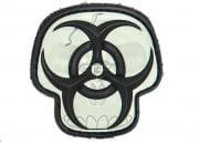 Maxpedition Biohazard Skull PVC Patch (SWAT)