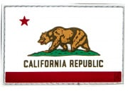 Maxpedition California Flag PVC Patch (Full Color)