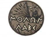 Maxpedition Molon Labe PVC Patch (Arid)