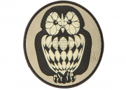 Maxpedition Owl PVC Patch (Arid)