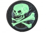 Maxpedition Skull PVC Patch (Glow)