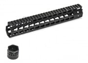 "Madbull Airsoft Strike Industries 11"" Keymod RIS Handguard (Black)"