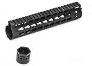 "Madbull Airsoft Strike Industries 9"" KeyMod RIS Handguard (Black)"