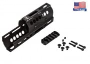 Midwest Industries Inc. AK M-LOK Handguard - Real Firearm (Black)