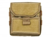 Mil-Spec Monkey Maxpedition Monkey Combat Admin Pouch (Tan)