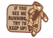 Mil-Spec Monkey EOD Running Patch (Desert)
