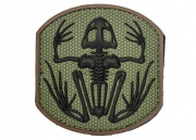 MM Frog Skeleton PVC Patch (Forest)