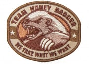 Mil-Spec Monkey Honey Badger Patch (Desert)