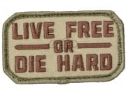 Mil-Spec Monkey Live Free or Die Hard Patch (Multicam)