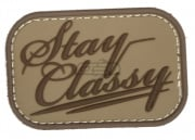 Mil-Spec Monkey Stay Classy PVC Patch (Desert)