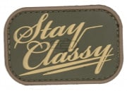 MM Stay Classy PVC Patch (Multicam)