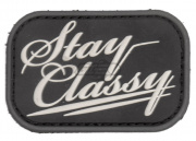 MM Stay Classy PVC Patch ( Swat )