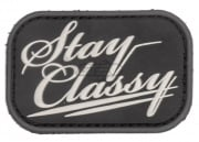MM Stay Classy PVC Patch (Swat)