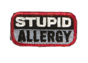 MM Stupid Allergy Patch (Swat)