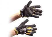 Mechanix Wear Original Light Gloves (Black & Gold/Small)