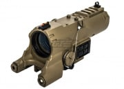 NcSTAR ECO 4x34 Scope W/Green Laser and NAV LED (Tan)